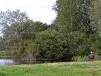 Fishing is available at Tolpuddle - a short walk from the cottage