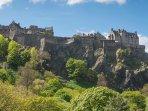 Edinburgh Castle - 2.5 Miles