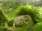 The Lost Gardens of Heligan are only a couple of miles away