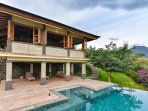 Private infinity pool next to your villa