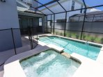 Pool and Spa, optionally heated, for added relaxation!