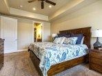 Master Bedroom - King Bed (Main Level)