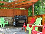 Barbecue Area - Propane for Gas Grill Provided