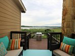 SkyRun Property - 'INNDEERMENT LAKE ESCAPE' - Elegant Back Porch with Lake View