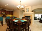 Lovely Kitchen & Dining Area