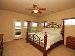 Second Bedroom With King - Enjoy the lake views from the private deck!
