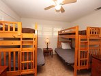 Fourth Downstairs Bedroom with Full/Twin Bunk Beds