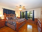 Master Bedroom with King & Lake View