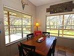 Dining Area with River View