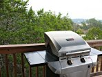 Gas Grill on Deck - Propane is provided for Guest Use