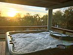 Hot Tub on Lower Level - Come Soak up the Fun!