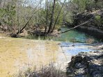 Hill Country Creek on the Property