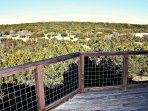 Deck Overlooking Wimberley Hillside