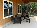 Comfortable & Shaded Lower Seating Area