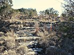 Hillside Steps - Book Your Wimberley Getaway with SkyRun Vacation Rentals Today!
