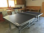 Ping Pong Table in Garage - New for 2015!