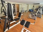 great gym on the premises