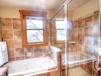 Dual Vanity Master Ensuite Bathroom