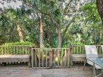You'll love spending time on the spacious deck.
