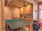 Get a friendly competition going around the ping pong table.