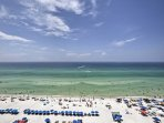 With the Gulf right outside your front door, this property offers quick and easy access to the beach!