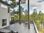 A memorable Ruidoso retreat awaits you at this 4-bedroom, 4-bath vacation rental house which sleeps 12.