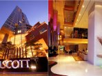 Elegant shared Ascott Hotel premises