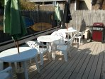 Large Deck, Gas Grill