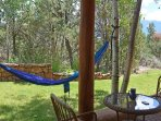 Hammock for lazy day relaxing &/or napping