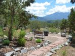 The path to sweeping mountain views and a very special fire pit