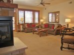 Plenty of space in this Living Room, plus a sleeper sofa for larger groups