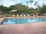 pool- tennis-grill located in screen cabanna