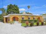 Lido Key Villas is an historic 'Ringling Estate' Guest house triplex across from the beach.