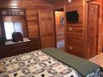 24 'Flat screen Tv in each bedroom