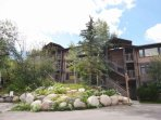 You will walk less than 50 yards to the slopes as our condo is located in the Aspenwood building closest to the...