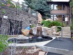 You will love the pool area with 2 great hot tubs!  Open both winter and summer.