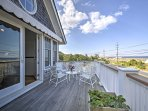 The beautiful home boasts 3,000 square feet and features plenty of outdoor space on the decks.