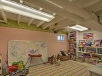 The kids will love the play room!