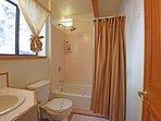 Downstairs master bathroom