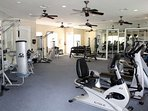 Fitness & amenities center ensuring there's no excuse to take a break from your fitness routine, even on vacation!