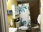 Bath-room with sunken tub