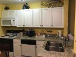 Full Kitchen with granite countertops