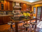 You will love the kitchen! It modern and fully-equipped.