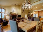 Dine at Our Table and Counter Seating