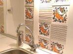 kitchen , original tiles from 1960