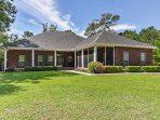Step inside this gorgeous 4-bedroom, 2.5-bathroom Milton vacation rental house located on Bubba Watson's home golf...