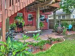 Relax on the porch swing and enjoy beautiful afternoons during your stay at this 2-bedroom, 2-bathroom vacation rental...