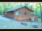 backside of cabin