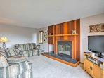 The home's spacious interior provides all the comforts of home in this gorgeous Colorado condo!