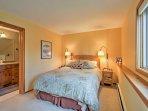 You'll love the master bedroom's private en-suite bathroom.